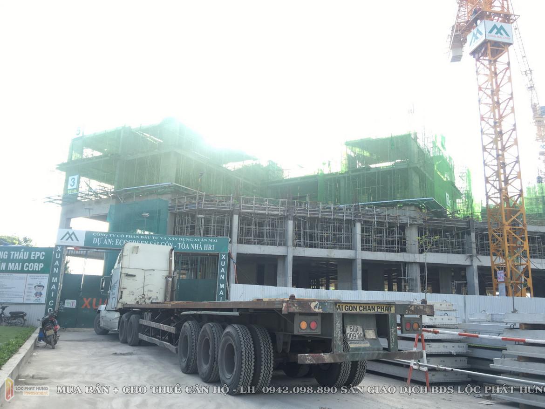 Tiến độ dự án căn hộ eco Green Sài Gòn Tháng 1/2019