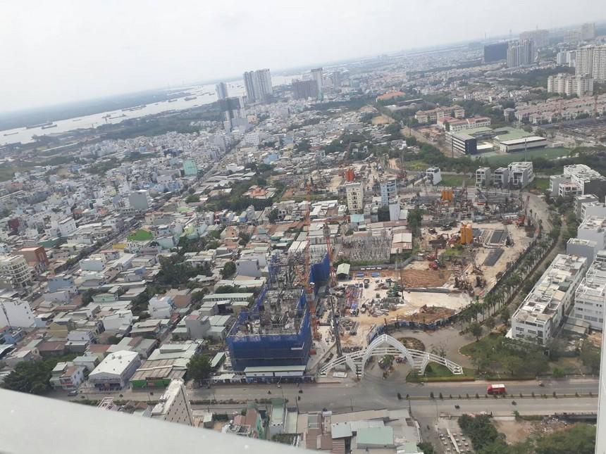 Tiến độ dự án căn hộ chung cư Sunshine City Sài Gòn Quận 7 Đường Phú Thuận chủ đầu tư Sunshine Group 03/2019