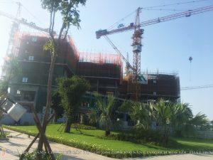 Tiến độ xây dựng dự án căn hộ chung cư Eco Green Sài Gòn Quận 7 Tháng 2/2019