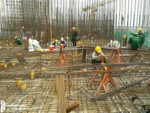 Tiến độ xây dựng dự án căn hộ River Panorama tháng 01/2019