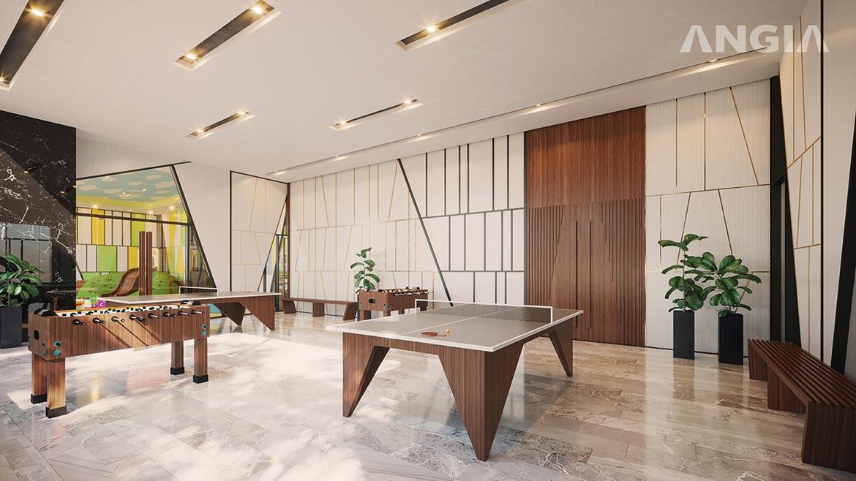 Tiện ích khu thể thao trong nhà dự án căn hộ Signial quận 7 đường Hoàng Quốc Việt