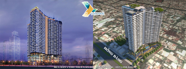 Phối cảnh dự án căn hộ D-Homme đường Hồng Bàng Quận 6