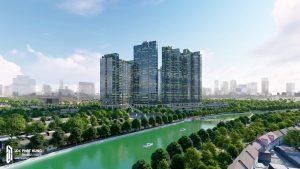 Vị trí địa chỉ dự án căn hộ Sunshine City Sài Gòn Quận 7
