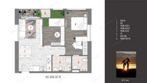 Mặt bằng dự án căn hộ D-Homme Hồng Bàng Quận6