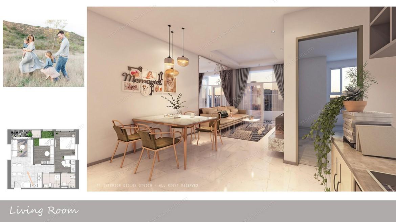 Nhà mẫu dự án căn hộ chung cư D Homme Quận 6