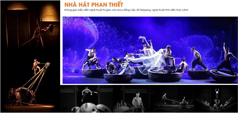 Tiện ích dự án căn hộ biệt thự condotel Thanh Long Bay Bình Thuận