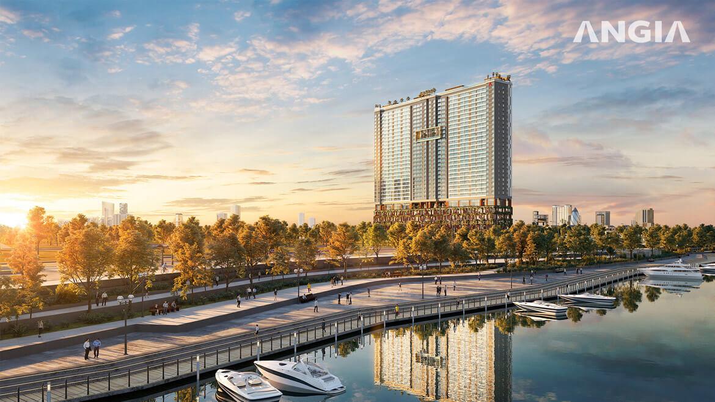 Dự án căn hộ The A Quận 7 chủ đầu tư An Gia Investment