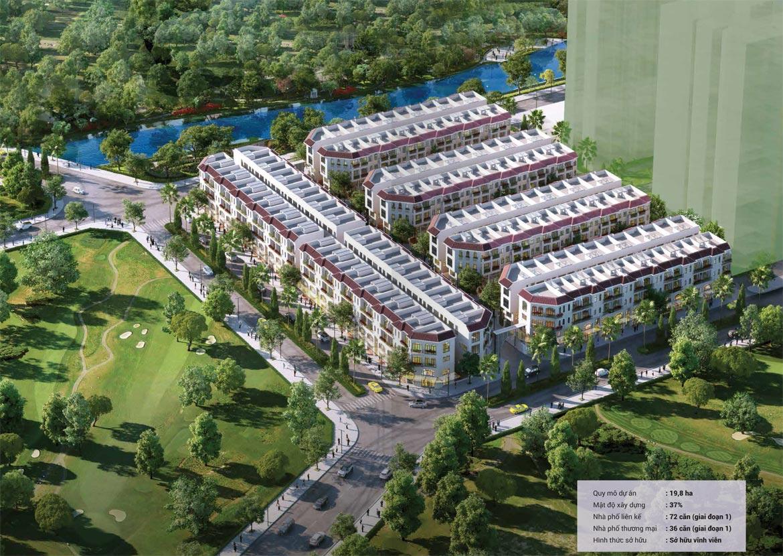 Phối cảnh giai đoạn 1 dự án nhà phố Senturia Nam Sài Gòn