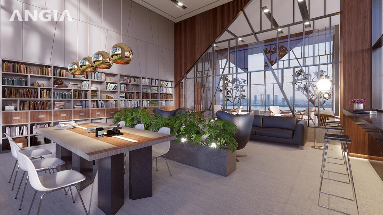 Tiện ích thư viện dự án căn hộ Signial quận 7 đường Hoàng Quốc Việt