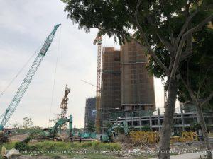 Tiến độ xây dựng dự án căn hộ chung cư Eco Green Sài Gòn Quận 7 Tháng 5/2019