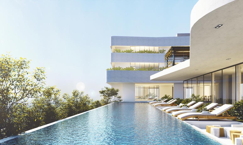 Tiện ích hồ bơi dự án căn hộ D Homme đường Hồng Bàng Quận 6