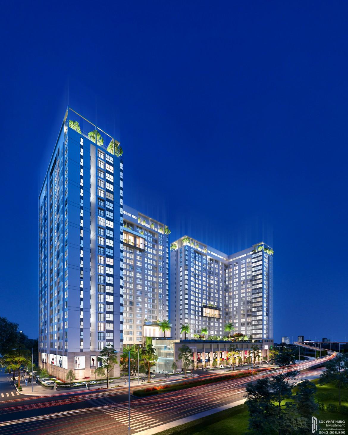 Khối đế căn hộ chung cư La Premier Thạnh Mỹ Lợi Quận 2 là trung tâm thương mại phục vụ cộng đồng cư dân và khu vực lân cận