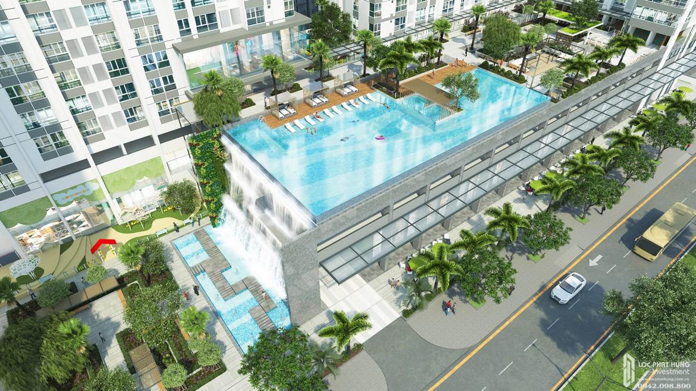 Tiện ich hồ bơi nội khu căn hộ chung cư La Premier Thạnh Mỹ Lợi Quận 2