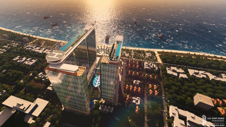 Căn hộ condosuites Sunshine Marina Đường Trần Phú chủ đầu tư Sunshine Group trực diện biển Nha Trang.