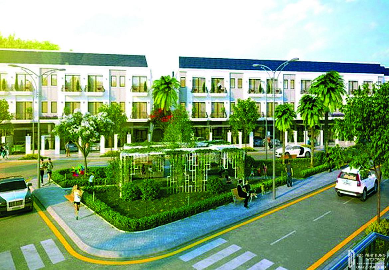 Mẫu thiết kế dự án đất nền nhà phố QI Island Bình Dương Đường Ngô Chí Quốc chủ