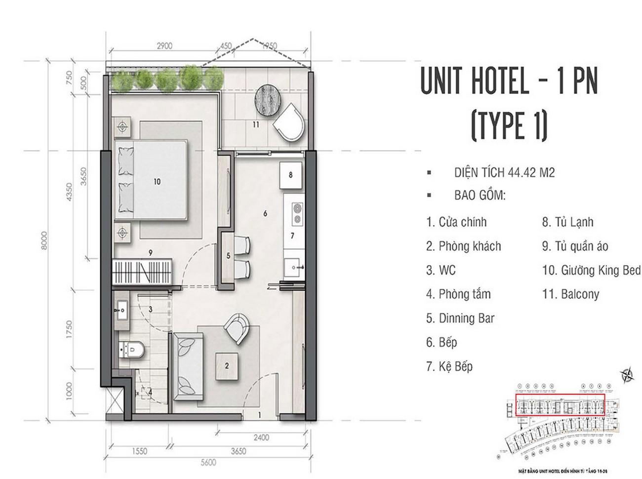 Thiết kế chi tiết dự án Condotel chung cư AB Central Square  Đường Trần Phú chủ đầu tư A&B Development Corp.