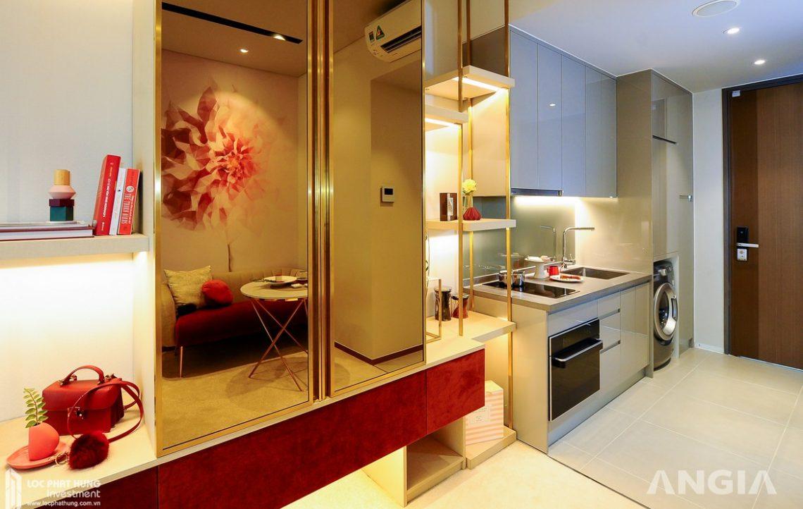 Nhà mẫu căn hộ Smartel Signial Quận 7 Loại Deluxe diện tích 29m2
