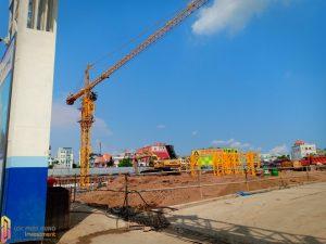 Tiến độ xây dựng dự án căn hộ Aio City tháng 05/2019