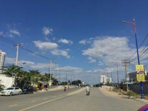 Tuyến đường Lương Định Của dự án Laimian City được mở rộng