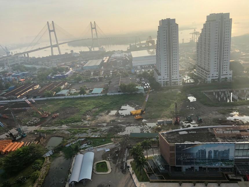 Tiến độ xây dựng Sunshine Diamond River 05/2019