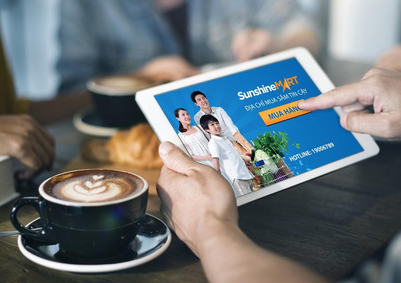 Tiện ích nội khu dự án căn hộ Sunshine Heritage Quận 1 - Thông qua App Sunshine Mart cư dân thỏa sức mua sắm