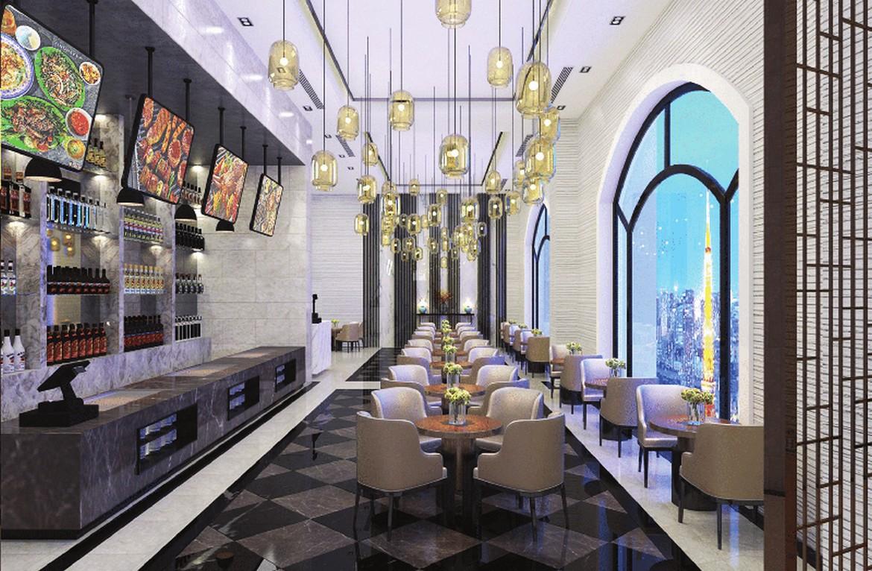 Tiện ích nội khu dự án căn hộ Sunshine Heritage Quận 1 - Nhà hàng nội khu căn hộ