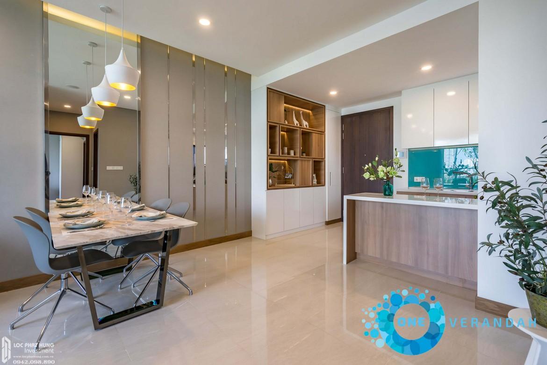 Nhà mẫu dự án căn hộ chung cư One Verandah Quận 2 Đường Bát Nàn chủ đầu tư Mapletree
