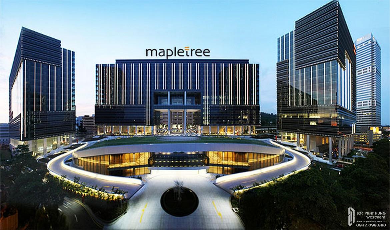 Chủ đầu tư dự án căn hộ chung cư One Verandah Quận 2 Đường Bát Nàn chủ đầu tư Mapletree