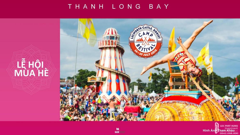 Lễ hội hè quanh năm dự án condotel, nhà phố, biệt thự biển Thanh Long Bay Bình Thuận