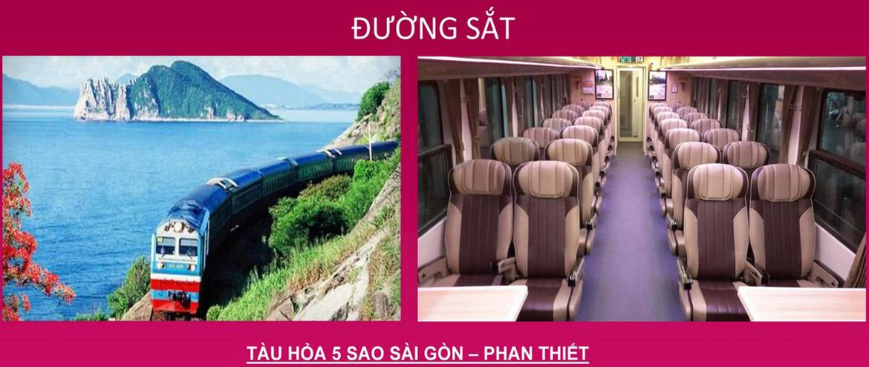 Hệ thống đường sắt  tiêu chuẩn 5* kết nối Bình Thuận và các tỉnh thành
