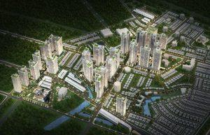 Mặt bằng tổng thể dự án căn hộ Laimian City Quận 2