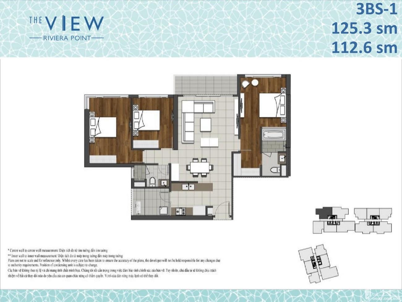 Thiết kế dự án căn hộ chung cư The View Riviera Point Quận 7 Đường Huỳnh Tấn Phát chủ đầu tư Keppel Land