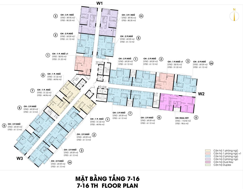 Mặt bằng thiết kế căn hộ D-Homme đường Hồng Bàng Quận 6 - Tầng 07– Liên hệ0942.098.890 -0973.098.890Nhận mua bán ký gửi + Cho thuê + Xem thực tế dự án.