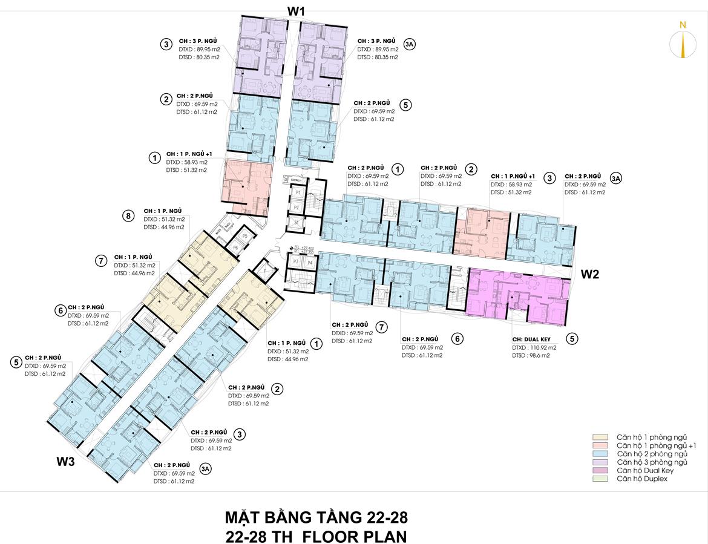 Mặt bằng thiết kế căn hộ D-Homme đường Hồng Bàng Quận 6 - Tầng 22-28– Liên hệ0942.098.890 -0973.098.890Nhận mua bán ký gửi + Cho thuê + Xem thực tế dự án.