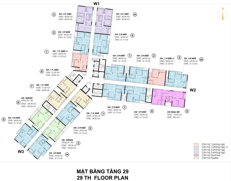 Mặt bằng thiết kế căn hộ D-Homme đường Hồng Bàng Quận 6 - Tầng 29– Liên hệ0942.098.890 -0973.098.890Nhận mua bán ký gửi + Cho thuê + Xem thực tế dự án.