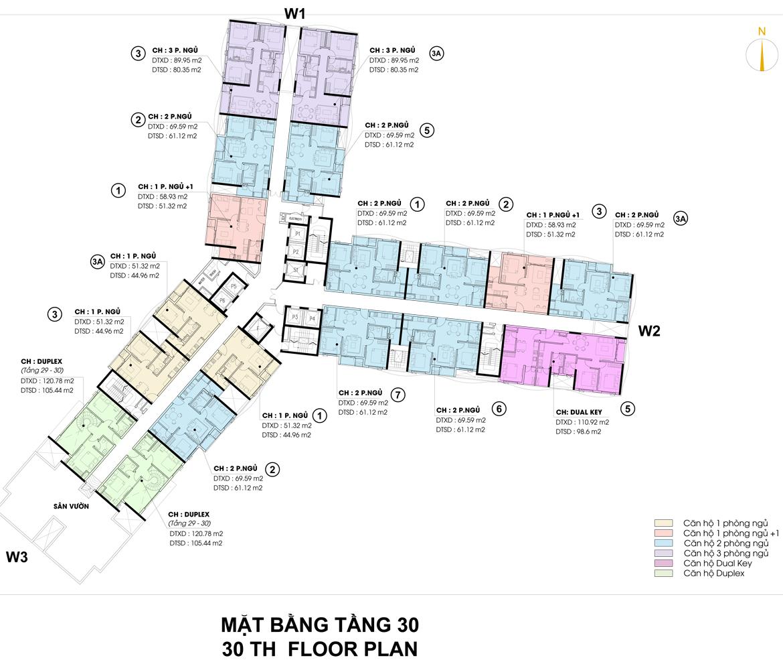 Mặt bằng thiết kế căn hộ D-Homme đường Hồng Bàng Quận 6 - Tầng 30– Liên hệ0942.098.890 -0973.098.890Nhận mua bán ký gửi + Cho thuê + Xem thực tế dự án.