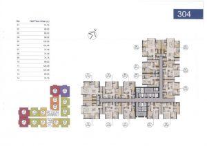 Giá bán căn hộ Laimian City Quận 2 loại 2 phòng ngủ