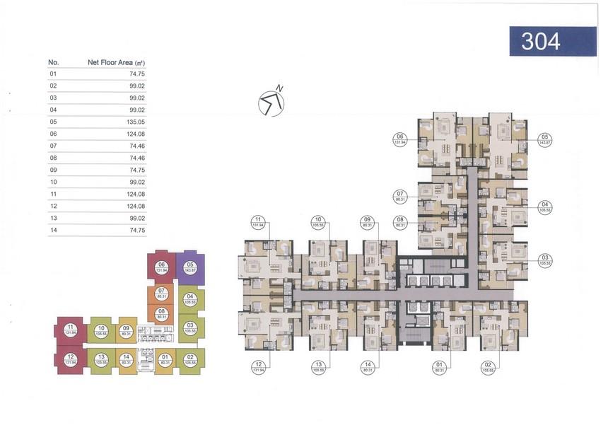 Giá bán căn hộ Laimian City 1 PN