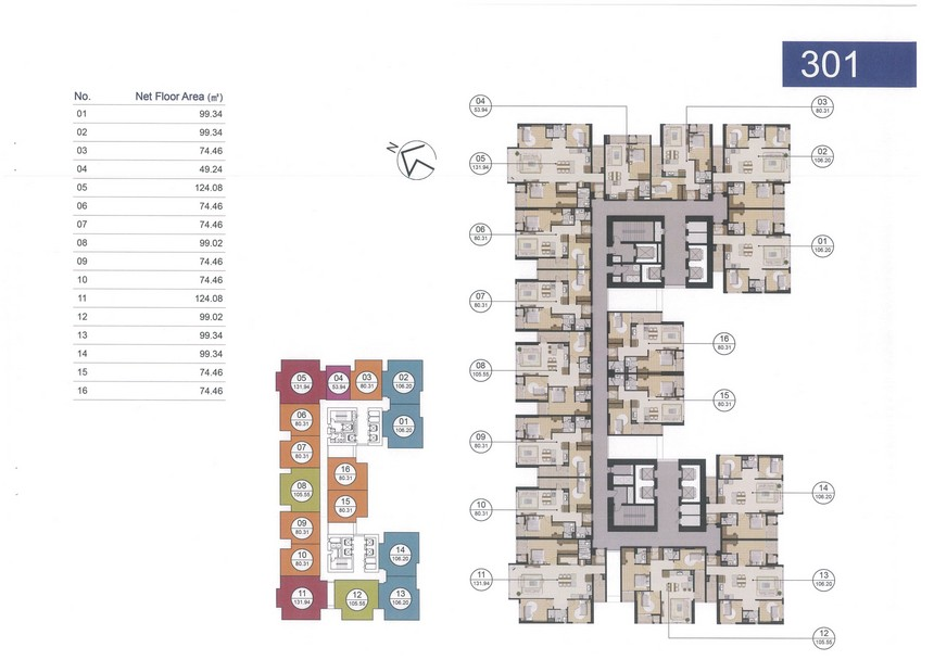 Giá bán căn hộ Laimian City 1 PN-