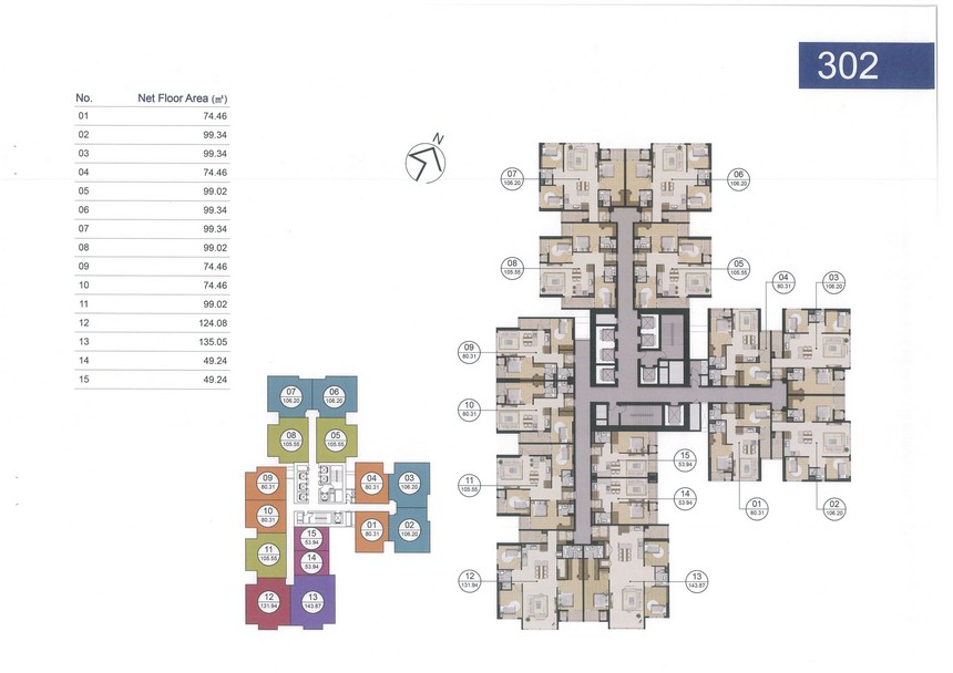 Giá bán căn hộ Laimian City 2PN