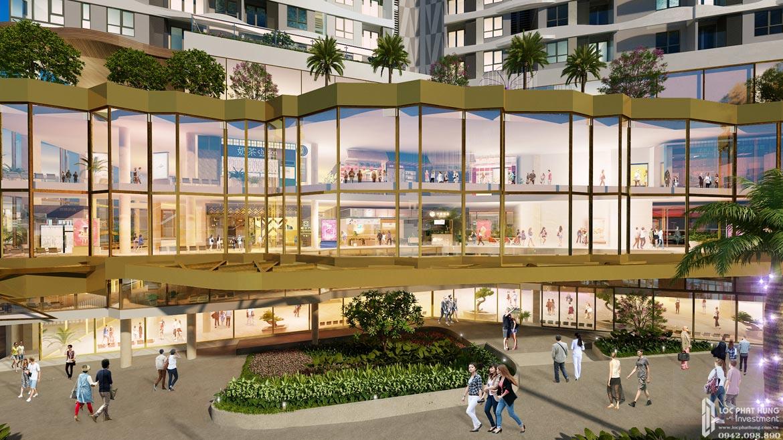 Mặt tiền trung tâm thương mại dự án căn hộ chung cư D Homme Quận 6 Đường Hồng Bàng chủ đầu tư DHA