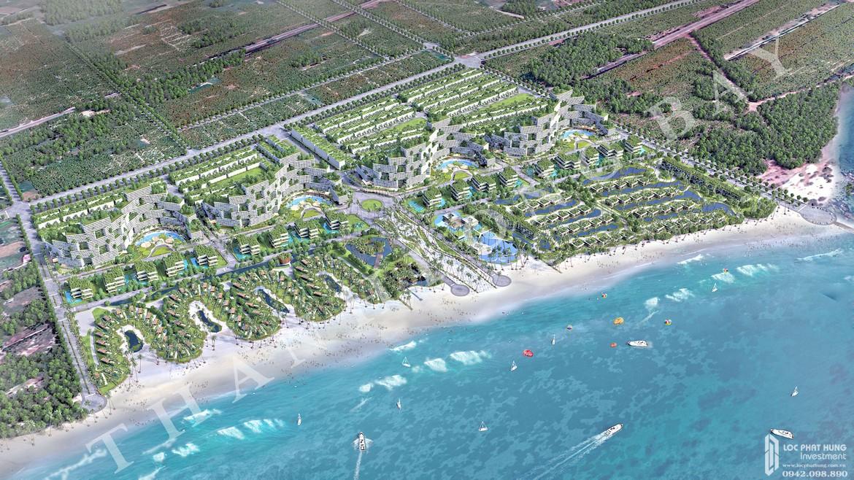 Phối cảnh tổng thể dự án nhà phố, biệt thự, condotel Thanh Long Bay Bình Thuận