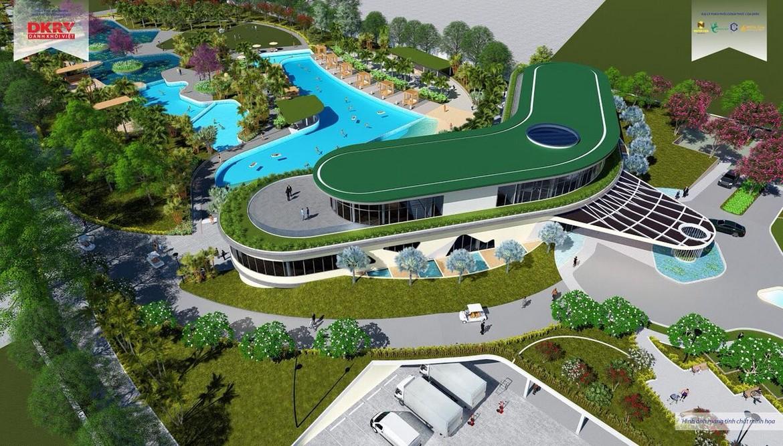 phối cảnh tổng thể dự án nhà phố, biệt thự, shophouse, villa, condotel dự án Kn Paradise Cam Ranh Khánh Hòa