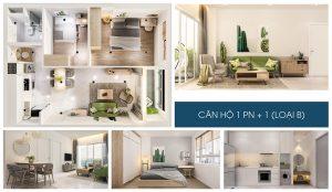 Nhà mẫu dự án căn hộ chung cư Charm City Bình Dương