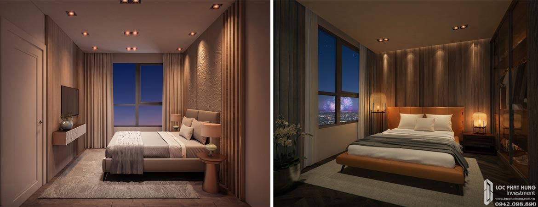 Nhà mẫu dự án căn hộ chung cư D Homme Quận 6 Đường Hồng Bàng chủ đầu tư DHA loại 1 PN - 1WC
