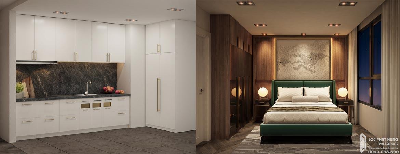Nhà mẫu dự án căn hộ chung cư D Homme Quận 6 Đường Hồng Bàng chủ đầu tư DHA loại 2 phòng ngủ