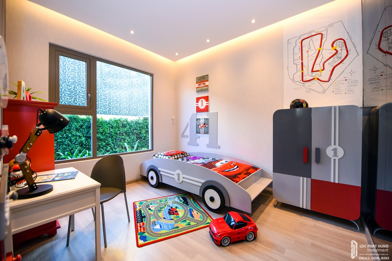 Thiết kế phòng ngủ 2 nhà mẫu dự án căn hộ chung cư Laimian City Quận 2 Đường Lương Đình Của chủ đầu tư HDTC - Hỗ trợ xem nhà mẫu 0942.098.890