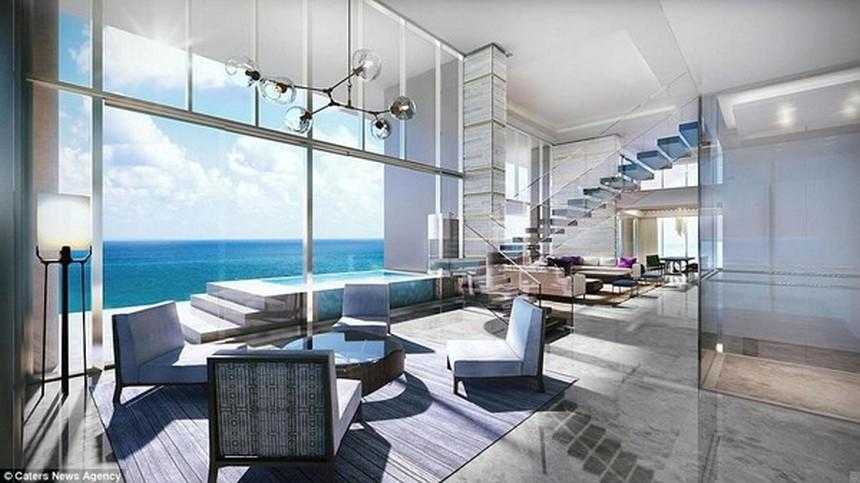 Nhà mẫu dự án condotel Crystal Marina Bay Nha Trang Đường Phạm Văn Đồng chủ đầu tư Crystal Bay