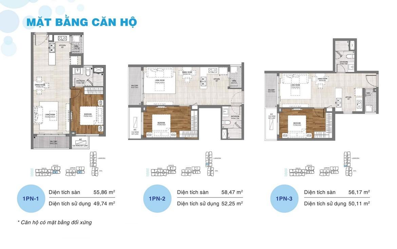 Thiết kế dự án căn hộ chung cư One Verandah Quận 2 Đường Bát Nàn chủ đầu tư Mapletree