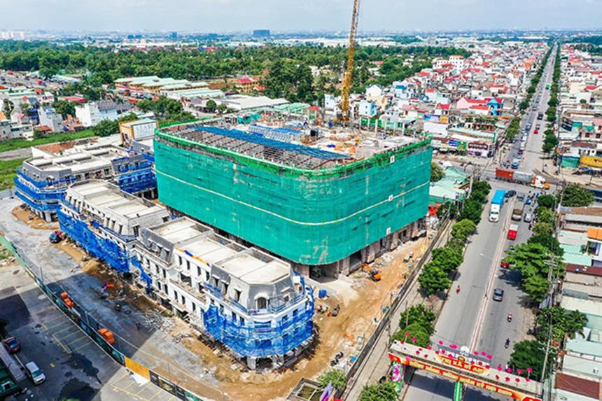 Tiến độ dự án căn hộ chung cư Charm City Dĩ An Bình Dương